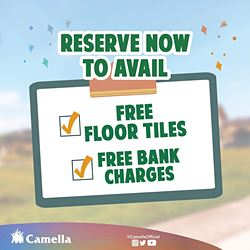 Promo for Camella Imus.